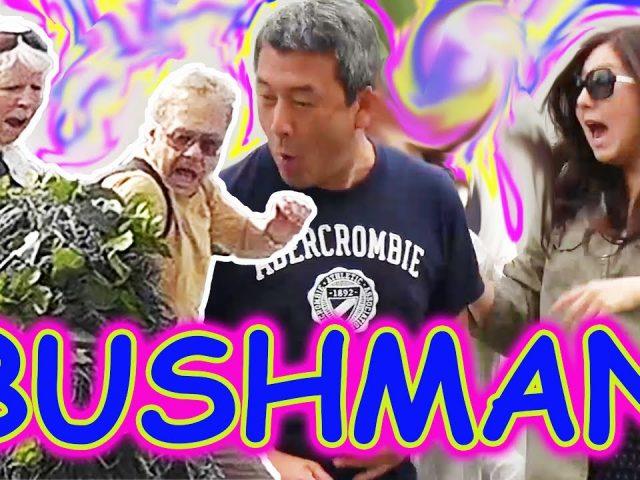 THE FUNNIEST BUSHMAN SCARE PRANKS EVER – Bushman Las Vegas Season 5 Ep. 1-4 The Bushman Prank