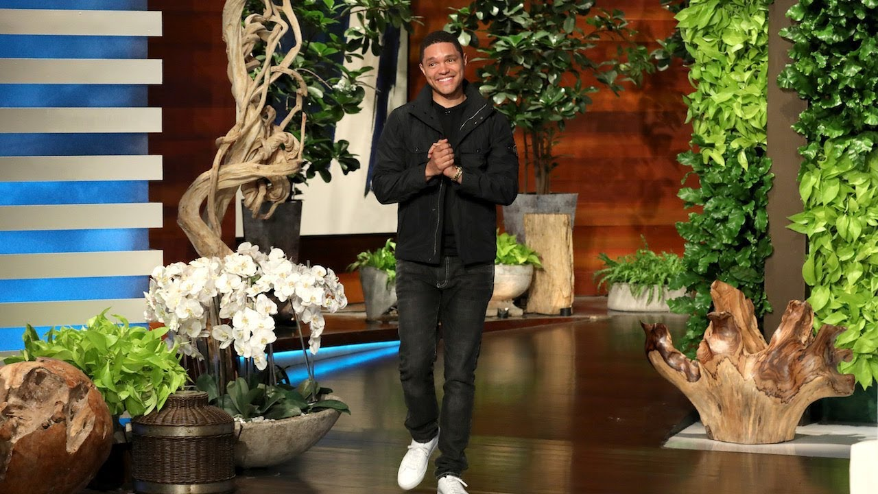 Trevor Noah Was Convinced Ellen Played a Wardrobe Prank on Him 1