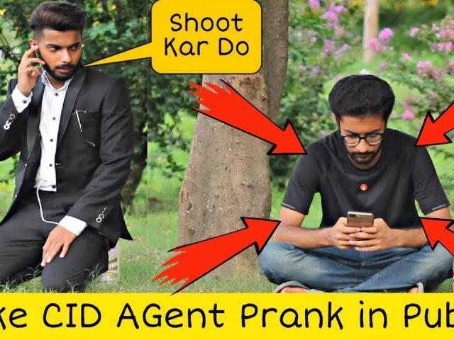 Fake CID Agent Prank | Pranks In Pakistan