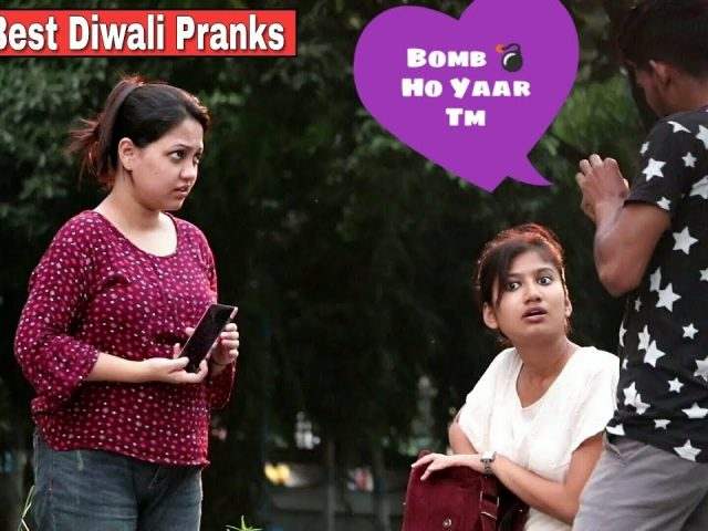 2018 Best Diwali Compilation Pranks On Girl's – Pranks In India – By TCI