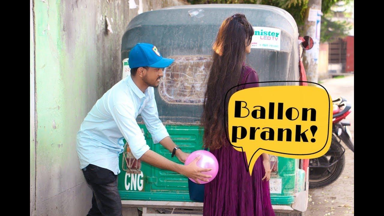 Funny ballon prank !  New Prank Video 2019 1