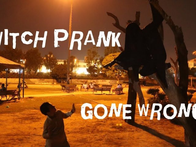 Scary Witch PRANK !!! Gone Wrong !!! ( Horror Ghost pranks )