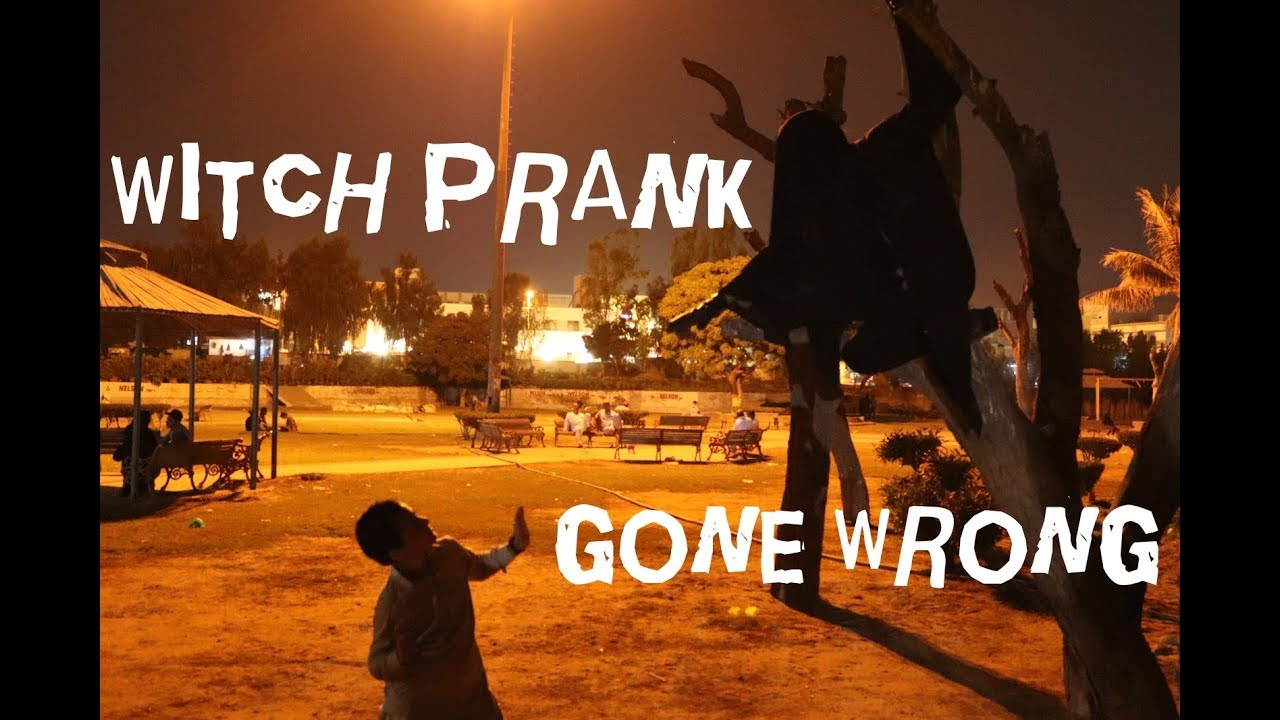 Scary Witch PRANK !!! Gone Wrong !!! ( Horror Ghost pranks ) 1