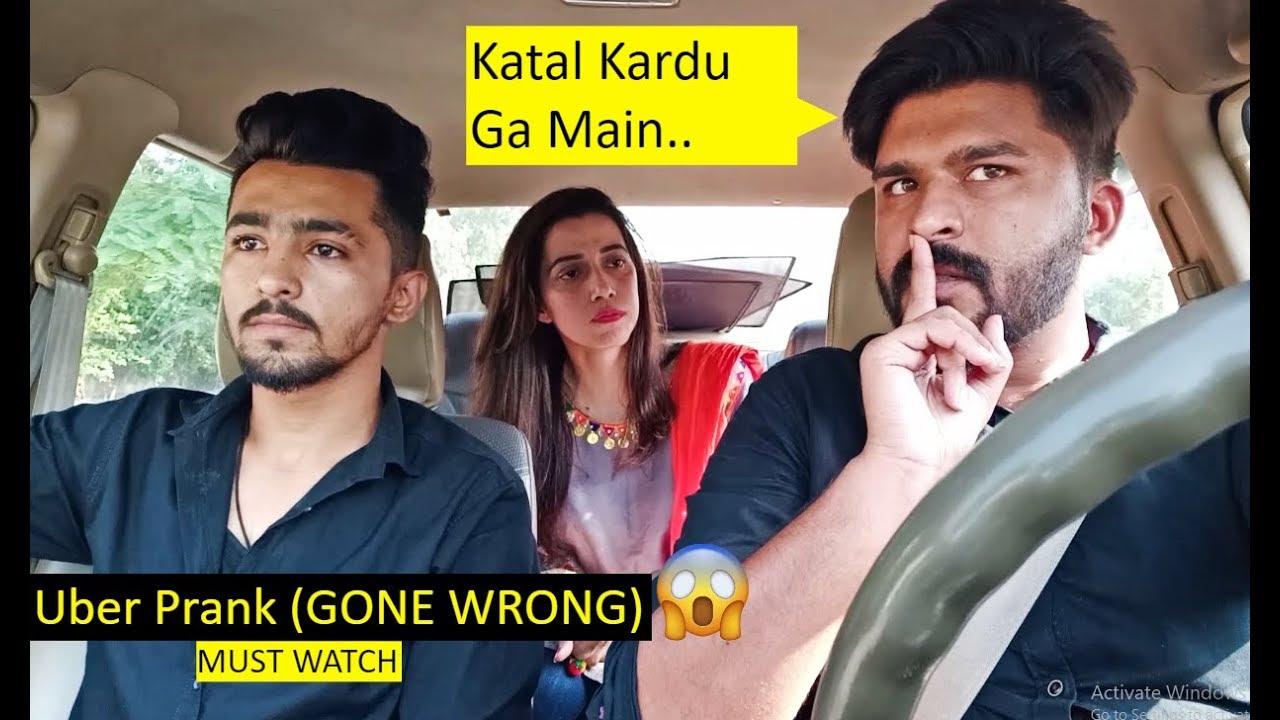 Uber Driver Prank (GONE WRONG) - Pranks in Pakistan - LahoriFied 1