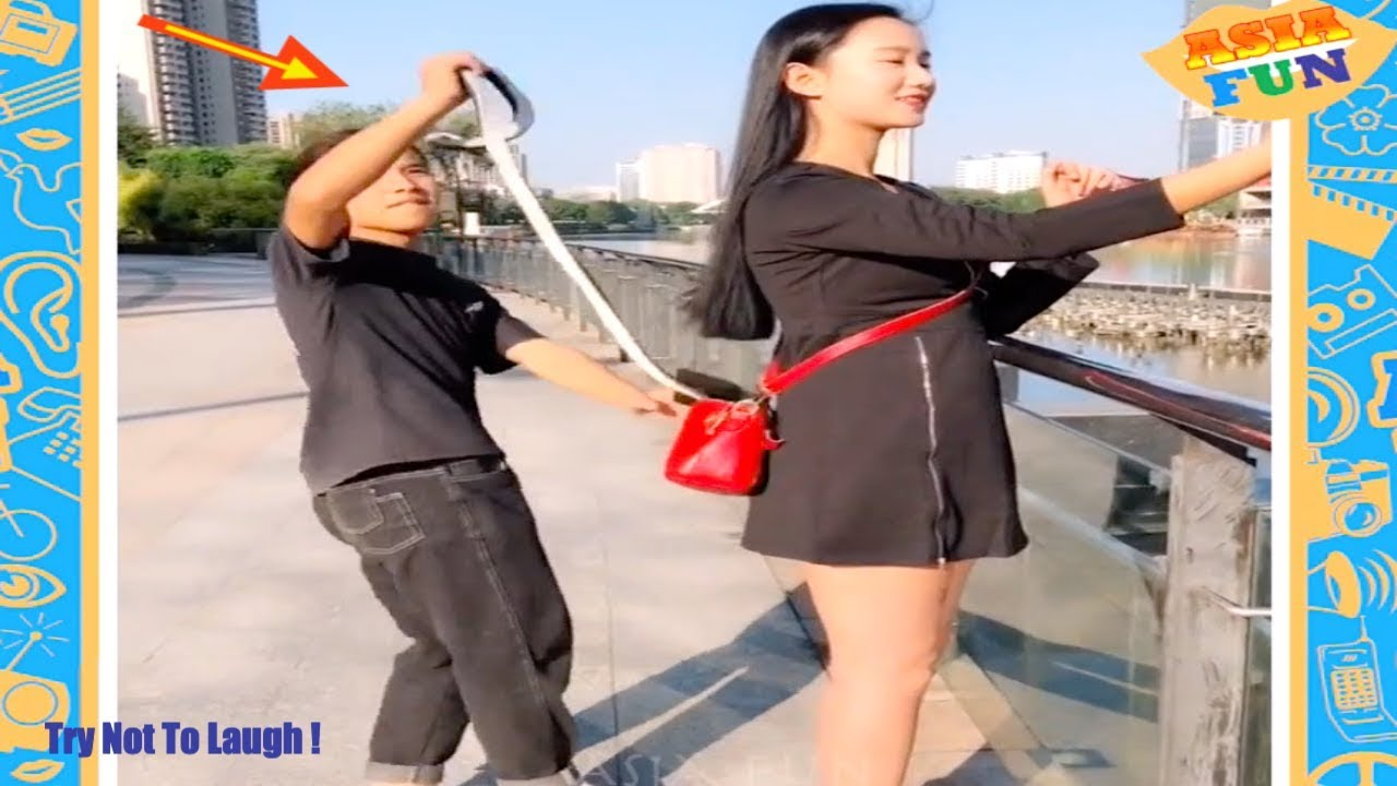 Chinese Comedy Videos - New Funny Pranks Compilation Try Not To Laugh P10 1