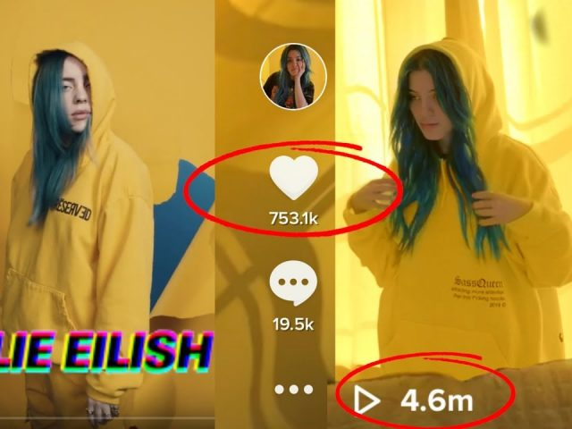 Going Viral as Billie Eilish Experiment
