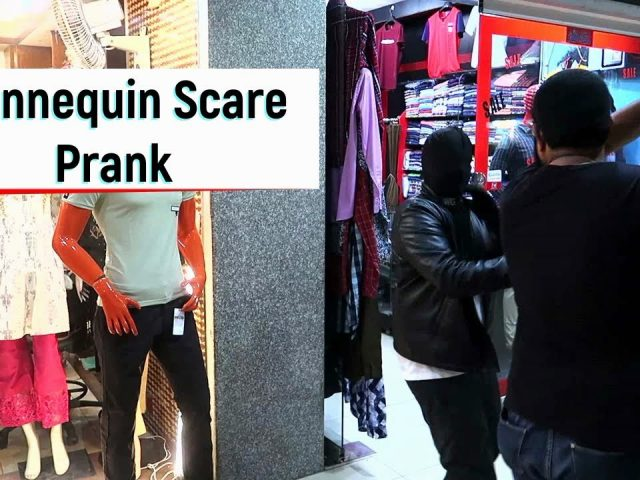 Mannequin Scare Prank Gone Wrong In Pakistan