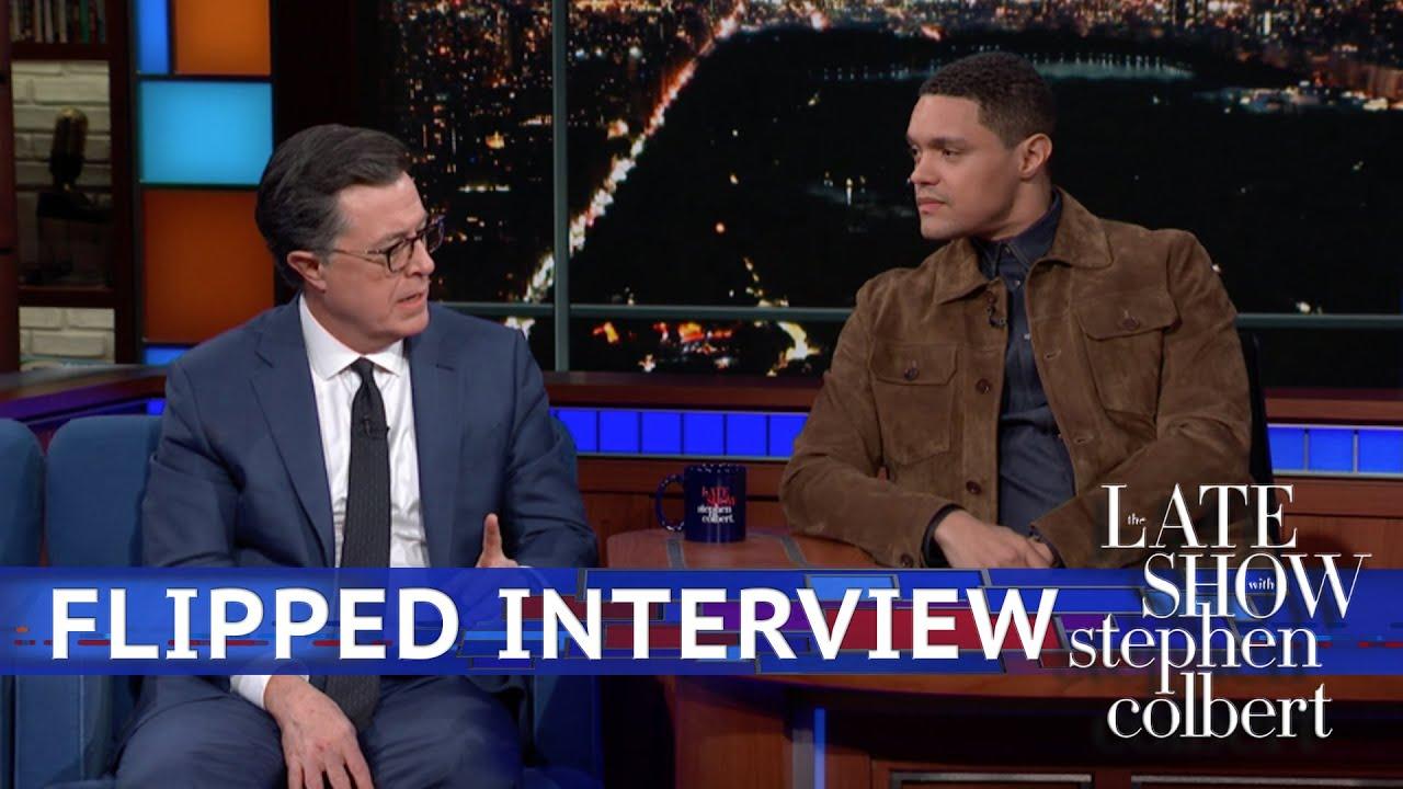 Trevor Noah Interviews Stephen Colbert 1