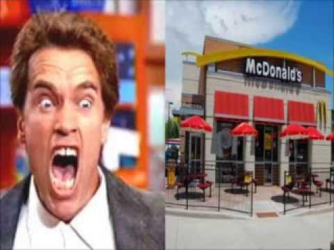 Arnold Schwarzenegger Calls Walmart, McDonald's, and Subway (Soundboard pranks) 1