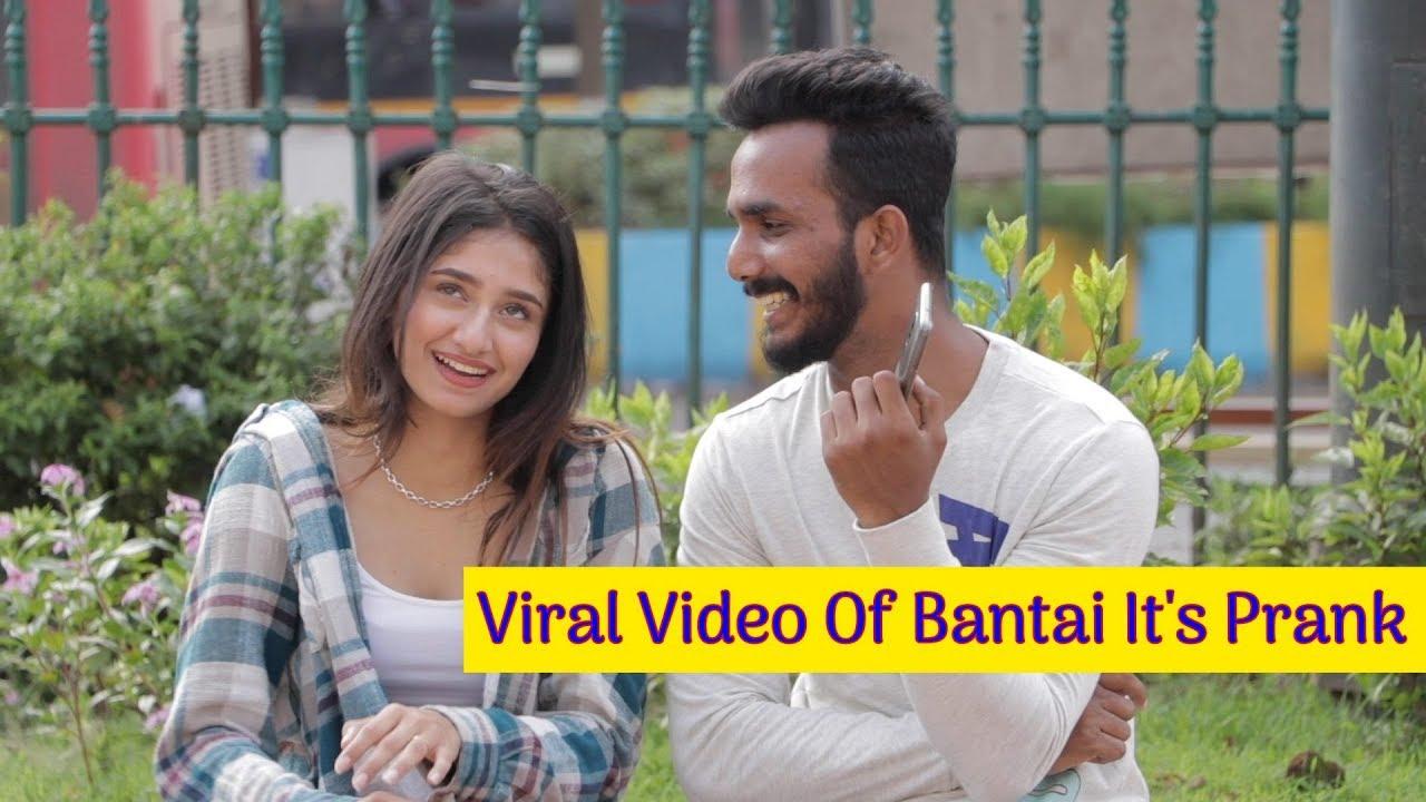 Cutest Viral Video Of Bantai It's Prank   Viral Videos - PART 2   AJ Hit Pranks   Oye It's Uncut 1