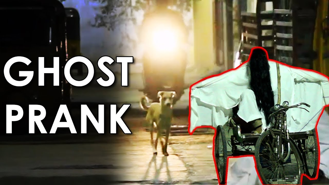 Epic Scary GHOST Prank in Hyderabad | Ghost Prank in India 2018 | FunPataka 1