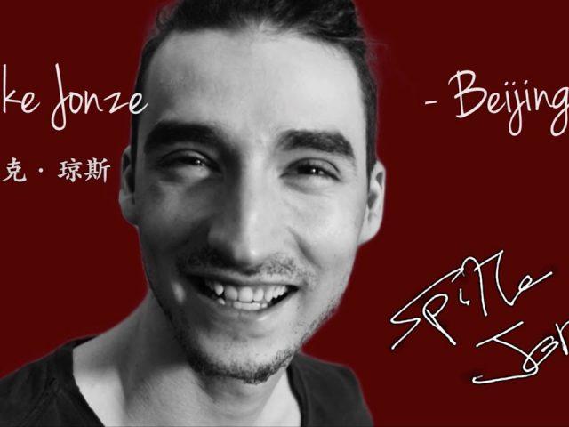 Fake celebrity – Spike Jonze – in Beijing China
