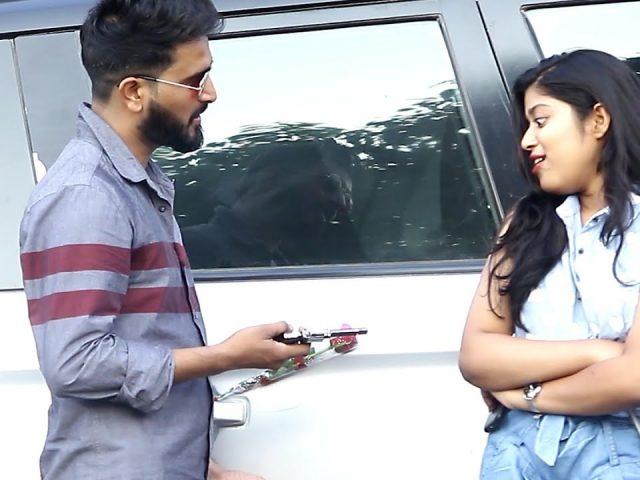 Fake Gun Prank On Sam Khan's Videos Girl | Yash Choudhary