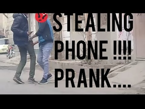 STEALING PHONE PRANK..GONE WRONG | IN LAHORE | BY PUNJABIANS PERFORMERS