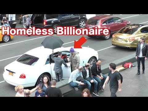 The Homeless Billionaire Prank! 1