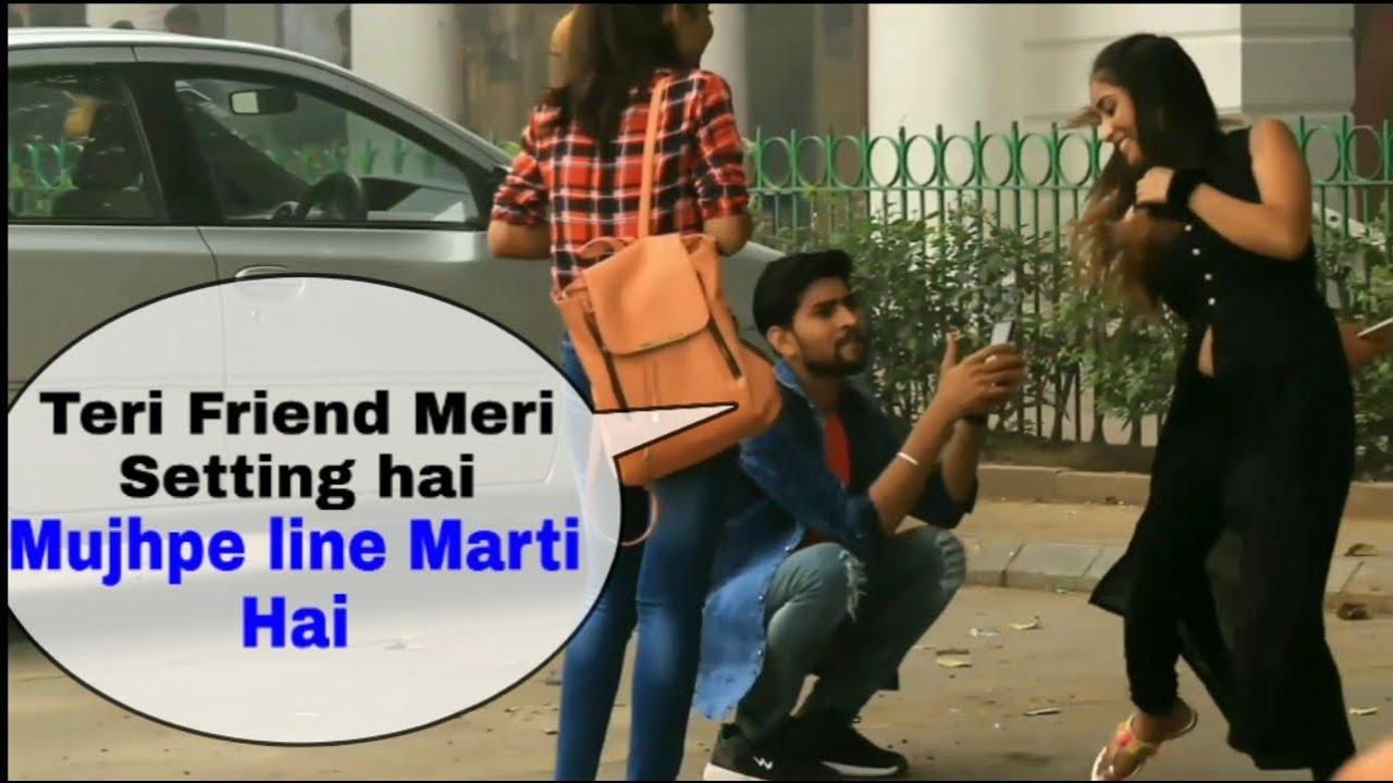Tumhari Friend Meri Setting Hai Prank | New Prank Video India | Girl Prank By Suren Ranga With Twist 1