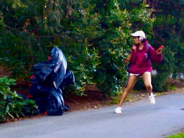 Garbage Bag SCARE PRANK (Gone Wrong!)   Princeton Tonight