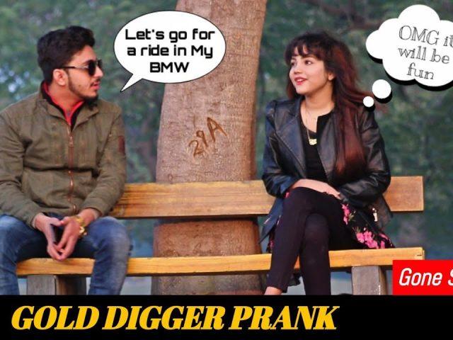 Gold Digger Prank | Savage Level 25000% | Prank in Pakistan