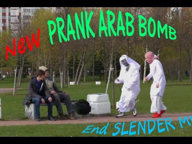 NEW PRANK [SLENDER MEN AND ARAB BOMB]  2019!!!!
