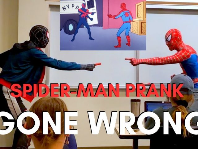 SPIDER-MAN PRANK GONE WRONG (TRY NOT TO CRINGE)