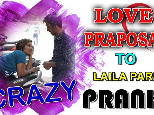 Crazy Love Proposal Prank on Tik Tok Laila Paru | Latest Prank Videos | Mad Pranks