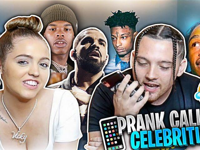 Prank Calling Celebrities | Woah Vicky