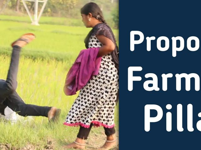 Propose To Village Farmer Girl | Prank In Telugu | Telugu Pranks | Mini Movie Entertainments
