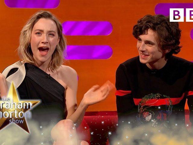 Saoirse Ronan's hilarious prank call won her a holiday! 😂 – BBC