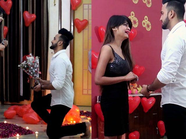Valentine Proposing Prank | by Vinay Thakur
