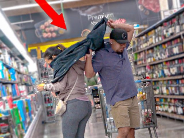 Wacking Strangers with a Jacket PRANK!