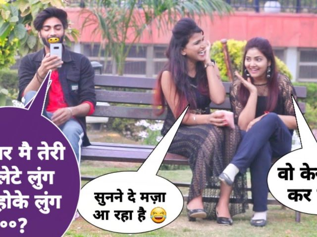 Double Meaning  Video Calling Prank #7 |prank in India | dhruv prank