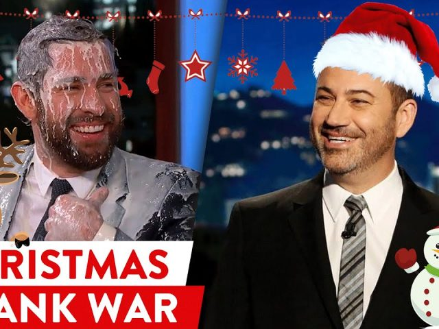 Epic Prank Battle: John Krasinski vs Jimmy Kimmel! |⭐ OSSA