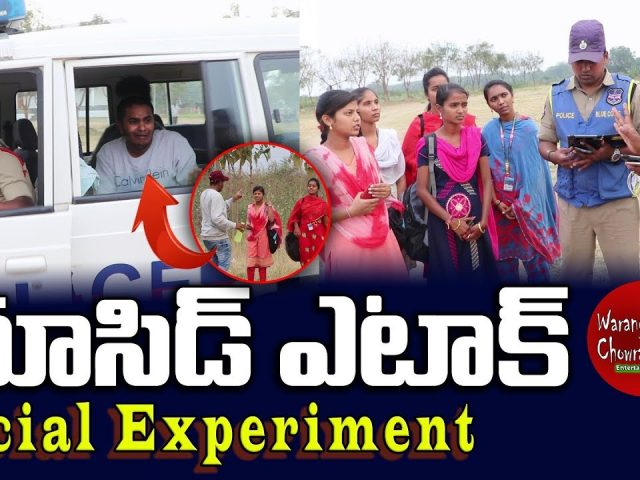 Extreme Acid Attack on College Students | Social Experiment | Warangal Chowrasta