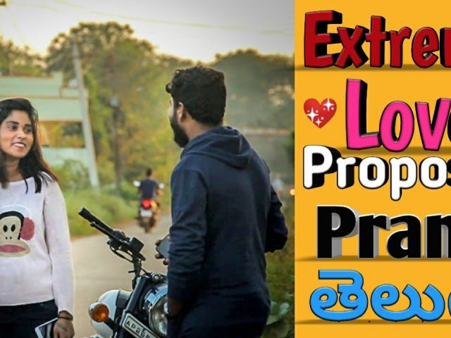 Extreme Love Proposal Prank in Telugu | Fun Blast | Nellore 2020
