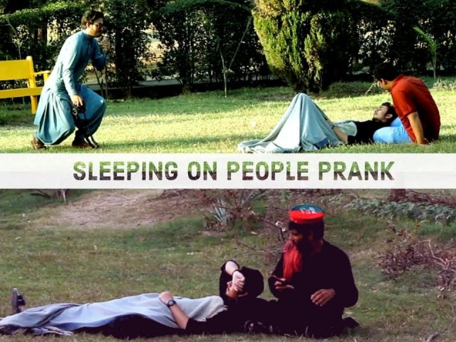 Extreme Sleeping On People Prank video | Pakistani prank | Prank videos