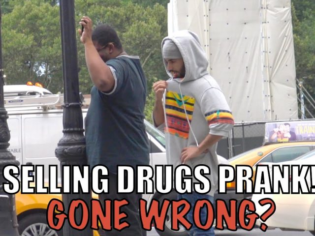 SELLING DRUGS PRANK! GONE WRONG?
