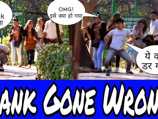 Tik Tok Scary Prank in Public Gone Wrong || Prank IN Delhi || Public Prank By Anoop Uniyal & Satish