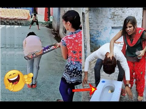 Try not to laugh Funny Prank videos | People doing stupid thing funny videos 2019 p67
