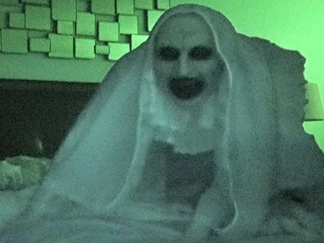 SCARY NUN PRANK ON SLEEPING HUSBAND