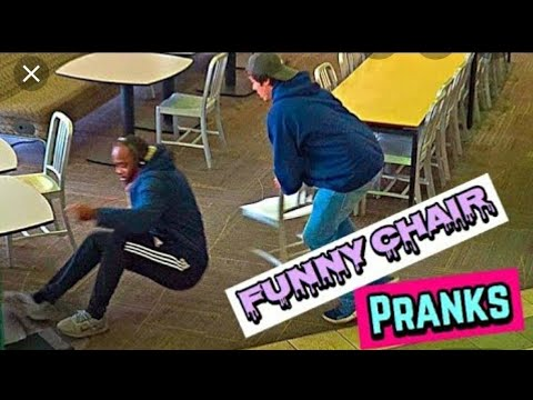 "Top Prank Video ""Chair Pulling"" Pranks Compilation – Funniest"